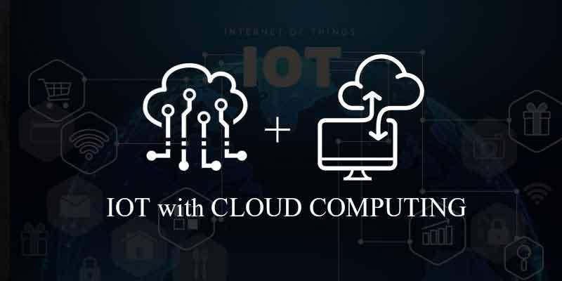 Iot with cloud computing